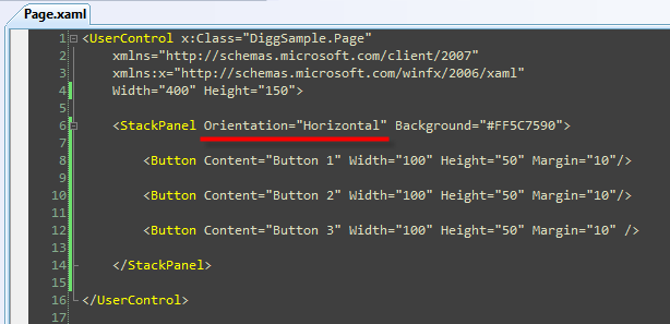 ScottGu's Blog - Silverlight Tutorial Part 2: Using Layout